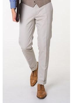 Spodnie Bawełniane Ecru 4 Gentleman   - kod rabatowy