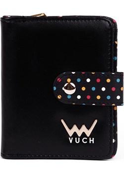 Vuch czarny portfel Nina  Vuch Differenta.pl - kod rabatowy