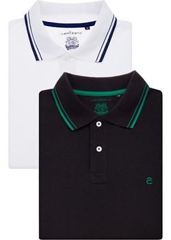 Zestaw 2 Koszulek Polo  Lancerto  - kod rabatowy
