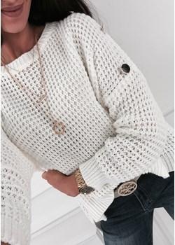 Sweterek - E162 ecrue  Ifriko.pl  - kod rabatowy