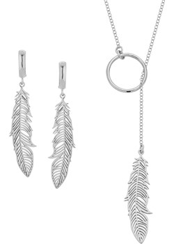 Komplet z Piórkiem Inspire Perlove  promocyjna cena Biżuteria-Perlove  - kod rabatowy