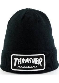 Czapka zimowa Thrasher beanie Logo Patch black Thrasher  Street Colors - kod rabatowy