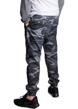 Spodnie Jogger Afrotica DAVIS Camo grey Afrotica  Street Colors - kod rabatowy