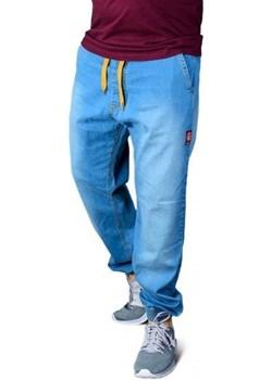 Spodnie Afrotica Jogger Pattern Jasny Jeans Afrotica  Street Colors - kod rabatowy