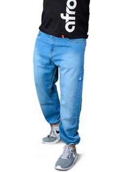 Spodnie Afrotica Cargo niebieskie  Afrotica Street Colors - kod rabatowy