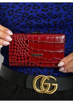 Portfel damski skórzany RFDI Lorenti 55287-STW czerwony Lorenti  Skorzana.com - kod rabatowy
