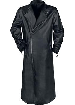 Black Coat Płaszcz z ekoskóry - czarny EMP okazja - kod rabatowy