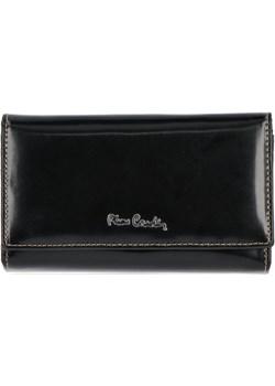 Klasyczne Skórzane Portfele Damskie firmy Pierre Cardin Czarny (kolory)  Pierre Cardin torbs.pl okazyjna cena  - kod rabatowy