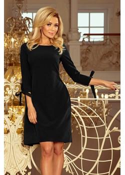 Sukienka z kokardkami rozm XXL   wyprzedaż 4myself.pl  - kod rabatowy