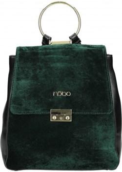 Plecak welurowy  Nobo wyprzedaż showroom.pl  - kod rabatowy