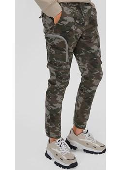 C&A Spodnie bojówki-Slim Fit, Zielony, Rozmiar: 28 Clockhouse  C&A - kod rabatowy