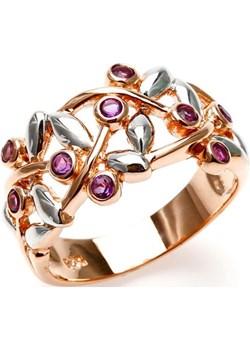 JOY; Srebrny pierścionek z ametystami bialy Braccatta  - kod rabatowy