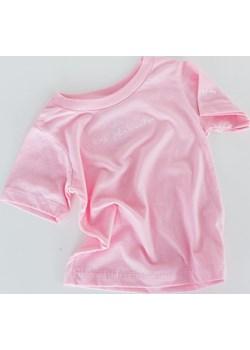"""koszulka - jasny róż """"brudasek''   okazyjna cena JAGAbaby  - kod rabatowy"""