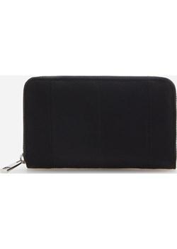 Reserved - Czarny praktyczny portfel - Czarny  Reserved  - kod rabatowy