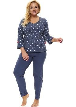 Piżama damska Dn-nightwear PB.9775 Deep blue Doctor Nap  bodyciao - kod rabatowy