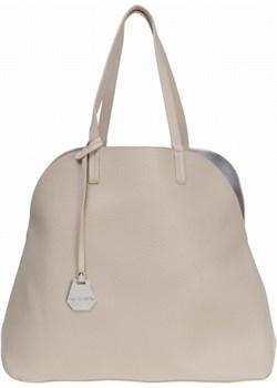 DIANA & CO Duża torebka damska miejska Shopper 3w1 beżowa   okazyjna cena Torebki Inspirowane  - kod rabatowy