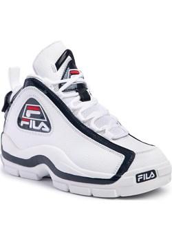 Sneakersy FILA - Grant Hill 2 1010788.01M White/Fila Navy/Fila Red  Fila eobuwie.pl - kod rabatowy
