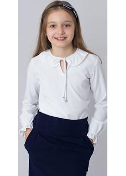 Biała Bluzka Dla Dziewczynki  Jomar Olek i Lenka - kod rabatowy