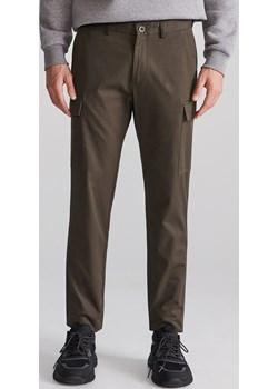 Reserved - Spodnie cargo - Khaki Reserved   - kod rabatowy