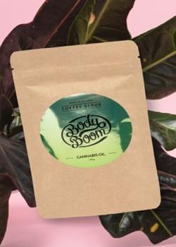 Peeling Kawowy Przebojowa Konopia Cannabis Oil 100g  Bodyboom  - kod rabatowy