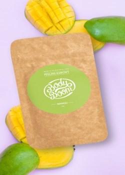 Peeling kawowy Boskie Mango 30g Bodyboom   - kod rabatowy