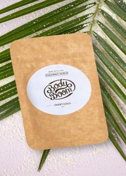 Peeling Kokosowy Sweet Coco 30g  Bodyboom  - kod rabatowy