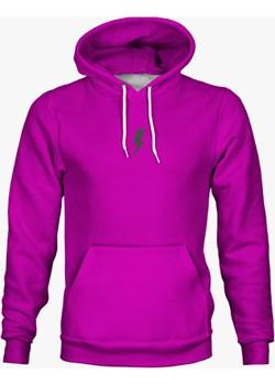 Bluza z piorunem neon purple bawełniana Mars From Venus  promocyjna cena   - kod rabatowy