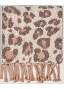 Sinsay - Szalik w leopardzie cętki - Beżowy Sinsay   - kod rabatowy
