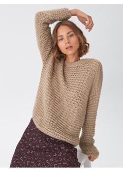 House - Sweter oversize - Beżowy  House  - kod rabatowy