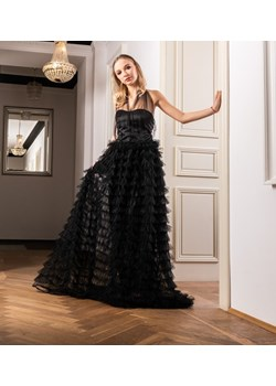 Koronkowa suknia wieczorowa - GLAM   My Image Art - kod rabatowy