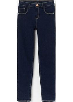 Reserved - Jeansy z prostymi nogawkami slim fit - Granatowy  Reserved  - kod rabatowy