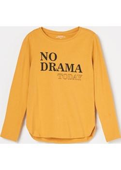 Reserved - Koszulka z bawełny organicznej - Brązowy  Reserved  - kod rabatowy