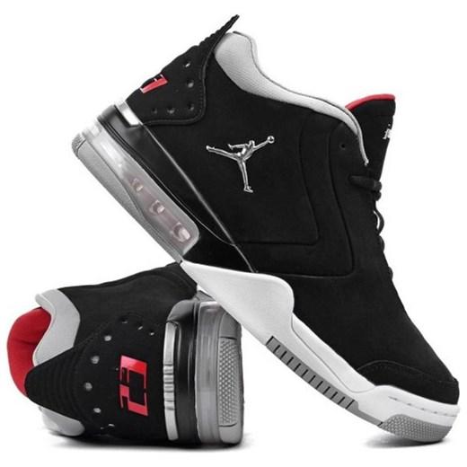 Buty sportowe męskie Nike air jordan czarne sznurowane