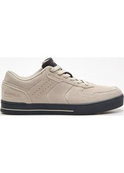 Cropp - Sneakersy z naturalnej skóry - Jasny szary Cropp   - kod rabatowy
