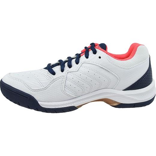 Bia?e buty sportowe damskie Asics na wiosn? sznurowane