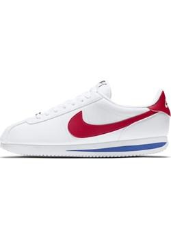 Buty Nike Cortez Basic - Biel Nike Nike poland wyprzedaż - kod rabatowy