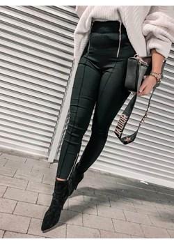 SPODNIE SARE BLACK SUWAKI   Yasmin Boutique - kod rabatowy