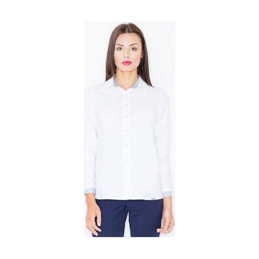 Koszula elegancka z długim rękawem Figl Koszule damskie
