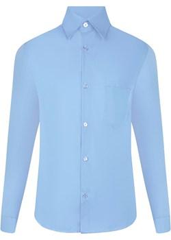 Koszula gładka niebieska Mik  TuSzyte - kod rabatowy