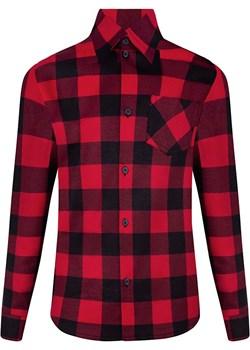 Koszula flanelowa w kratę  Mik TuSzyte - kod rabatowy