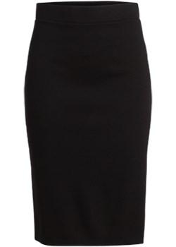 Spódnica  kappahl czarny elastan - kod rabatowy