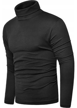 Bluza golf męski cmr6059 - antracytowy  Risardi  - kod rabatowy
