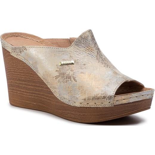 Sandały damskie Lasocki beżowe casual w Domodi