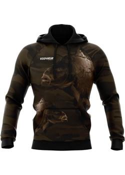 BLUZA WĘDKARSKA KARP Brązowy S Vision Wear Sport visionwearsport - kod rabatowy