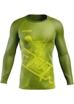 RASHGUARD RUN LONGSLEEVE Neonowa zieleń S Vision Wear Sport visionwearsport - kod rabatowy