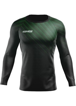 RASHGUARD STRIPES LONGSLEEVE ZIELONY Zielony S Vision Wear Sport visionwearsport - kod rabatowy
