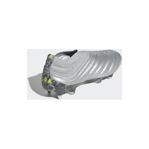 Buty sportowe męskie Adidas performance copa na wiosnę skórzane sznurowane