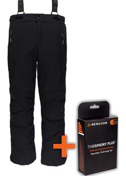 Spodnie Narciarskie CARVE-M STX Black  Bergson wyprzedaż   - kod rabatowy