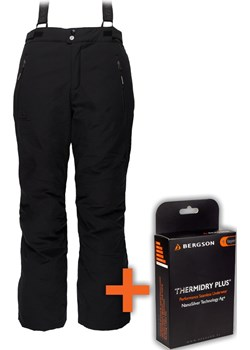 Spodnie Narciarskie CARVE-W STX Black  Bergson  okazyjna cena  - kod rabatowy