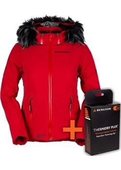 Kurtka Narciarska SNOWSWIFT STX Chinese Red Bergson  okazja   - kod rabatowy